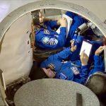 next ISS team in simulator