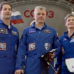 Thomas, Oleg Novitsky, Peggy Whitson