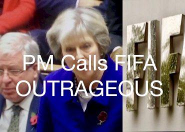 PM Calls FIFA Outrageous