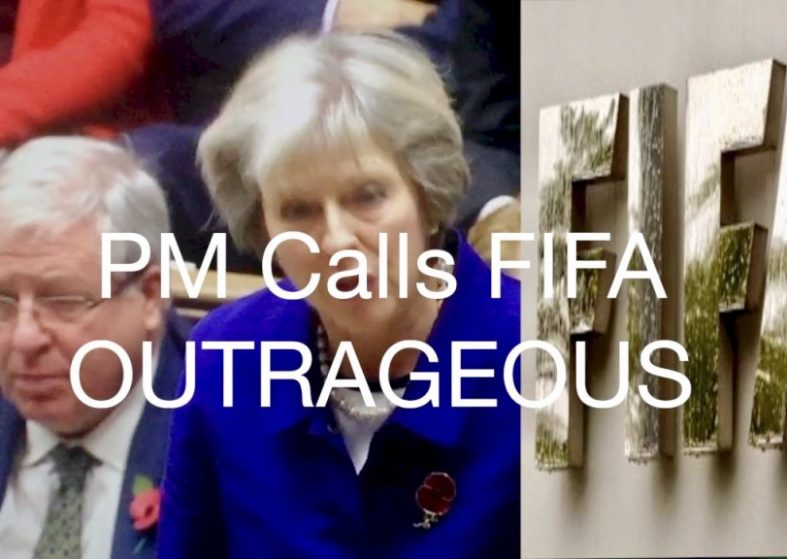 PM Calls FIFA Outrageous