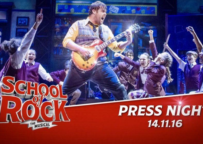 School of Rock press night