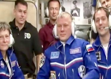 Proxima Docks ISS the team