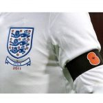 players wearing poppies