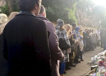 George Michael fans pay tribute