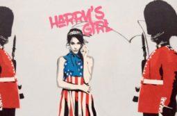 Prince Harry's girlfriend makes street art