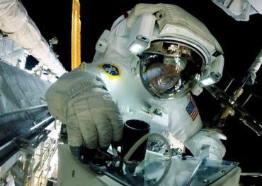 Spacewalker's view