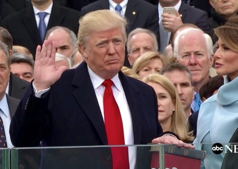 Trump Presidential Inauguration