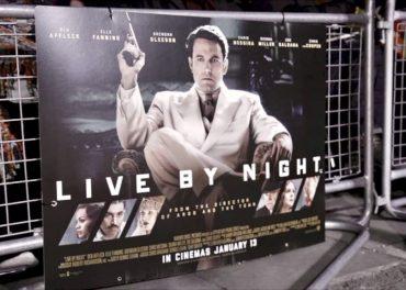 Live By Nigh European Premiere