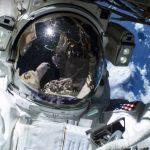 ESA NASA ISS Spacewalk