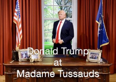 Donald Trump at Madame Tussauds