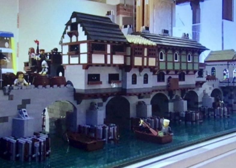 World Landmarks Created with Lego