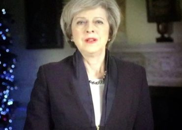 Theresa May New Year message
