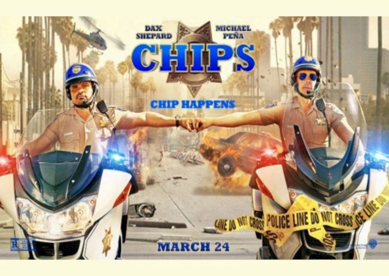 Chips movie - action comedy