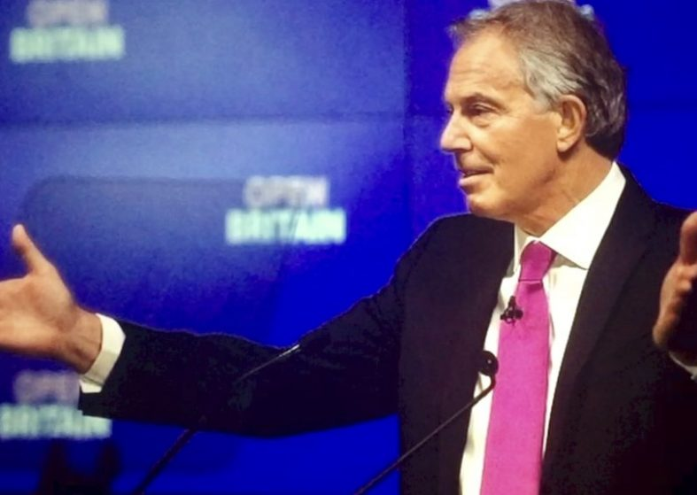 Tony Blair wants people to rise up against Brexit