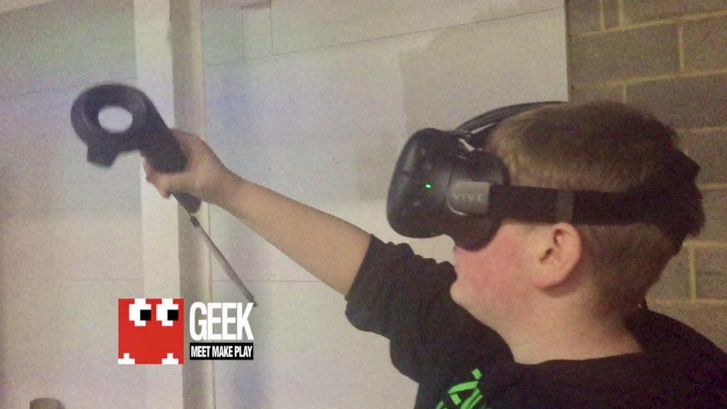 Virtual Reality at Geek2017