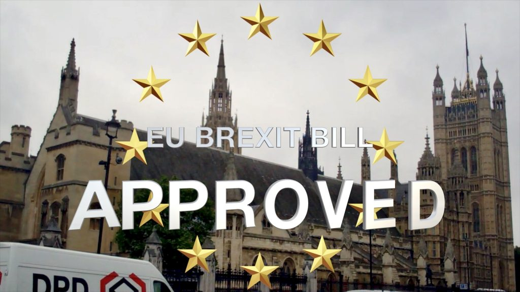 EU Brexit Bill Approved