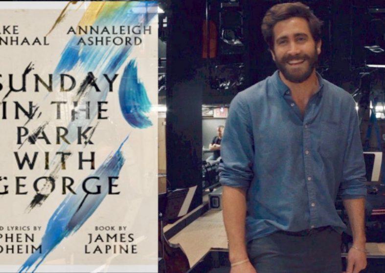 Jake Gyllenhaal on stage