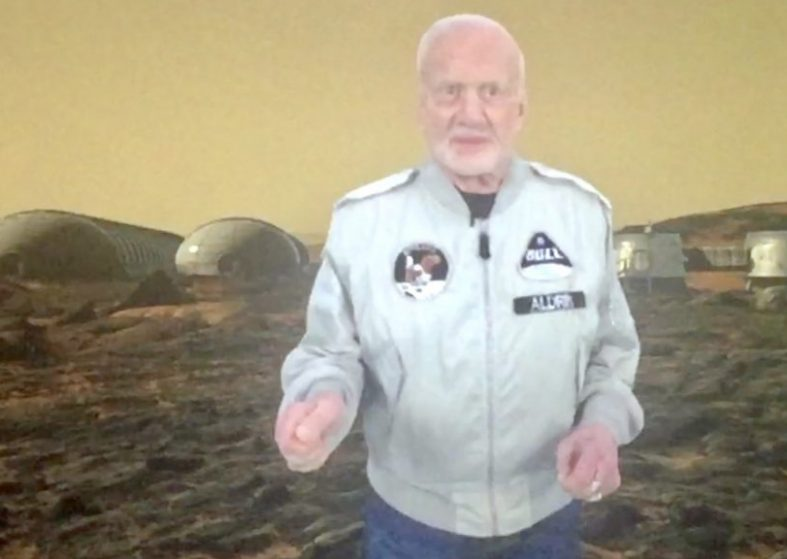 Buzz Aldrin and trips to Mars