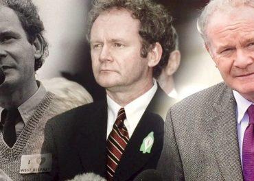 Martin McGinness Sinn Féin Politician Dies