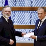 Brussels handed letter