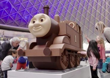 massive piece of chocolate