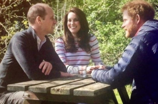 William Harry and Kate talk mental health
