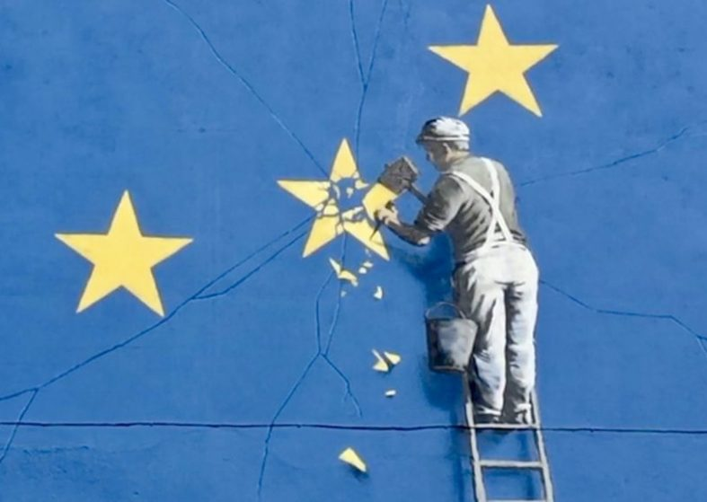 Banksy Brexit Mural to be Sold