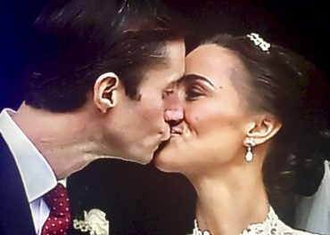 Pippa and James married