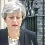 PM speaking outside Downing ST