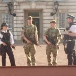 Military join Police as UK goes on alert