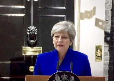 Theresa May Works with DUP to Form Government