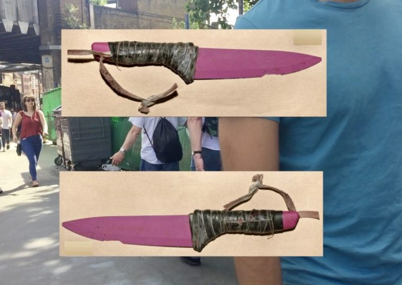 London Bridge Attack The Weapons