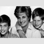 Diana William and Harry as children