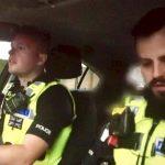 on patrol in Birmingham