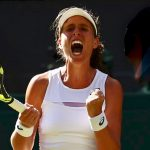 Wimbledon Konta Wins Battle Against Vekic