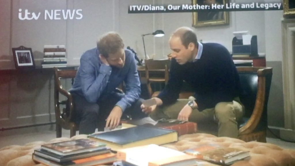 Princes William and Harry Talk their Mother Diana