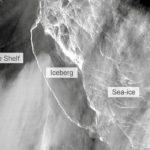 Huge Antarctic Iceberg finally breaks free