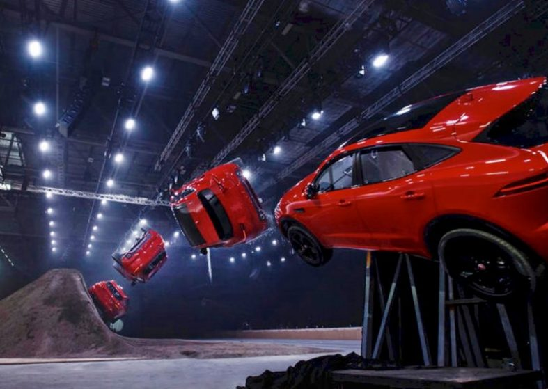 Jaguar E-Pace Wins World Record Breaking Stunt