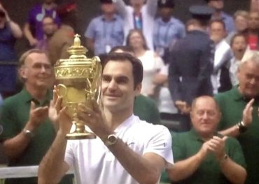 Roger Federer Wins Record 8th Wimbledon