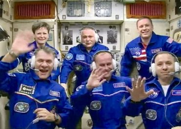 Paolo Nespoli 3rd Launch for ISS