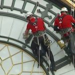 workers on Big Ben