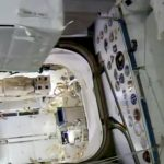 inside ISS airlock