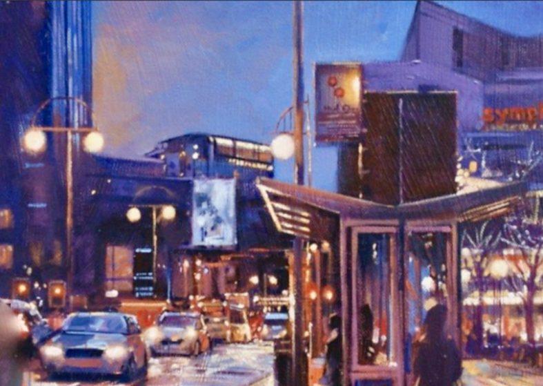 Birmingham Landmarks Caught On Canvas