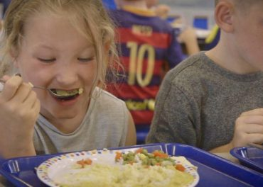 Children given free meals in school holidays