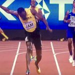 Usain Bolt in trouble