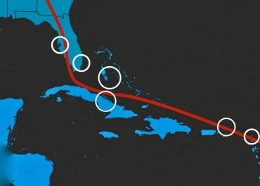Charting Irma's Path of Destruction