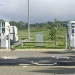 motorway service stations have chargers