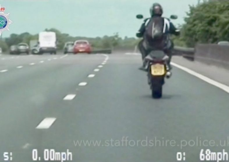M6 Biker Sentenced for Dangerous Driving