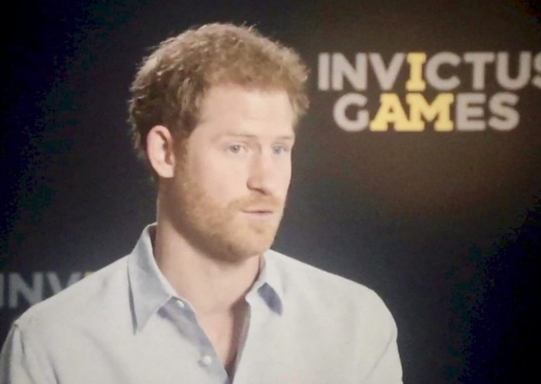 Prince Harry Talks Invictus Games