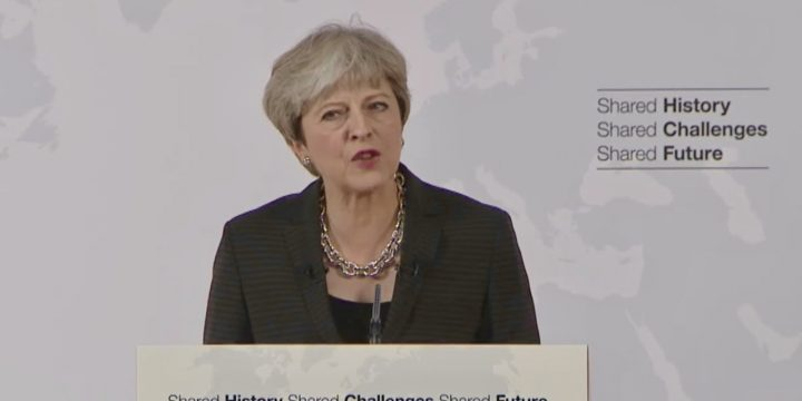 Watch Theresa May LIVE OVER - SKY NEWS